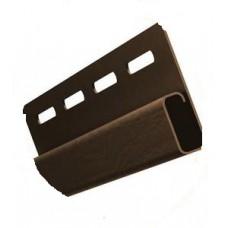 J-профиль коричневый 3000 мм (51шт/упак)