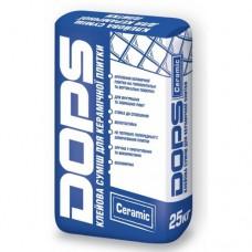 DOPS CERAMIC клей для плитки универсальный 25кг.