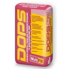 Dops MultiFix смесь для утепления, приклейки и армир. 25кг.