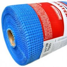 Склосітка штукатурна Fiberglass 145 синя (рулон 50 м.п.)