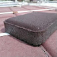 Тротуарная плитка Старый город 25мм Коричневая