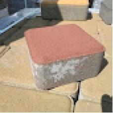 Тротуарная плитка Старый город 60мм Персик