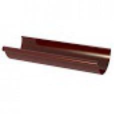 Желоб водосточный 120мм 3м NewWay Коричневый